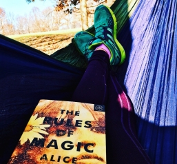 Nothing better than reading in my hammock